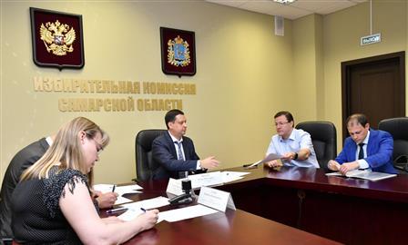 Дмитрий Азаров подал документы на участие в выборах губернатора