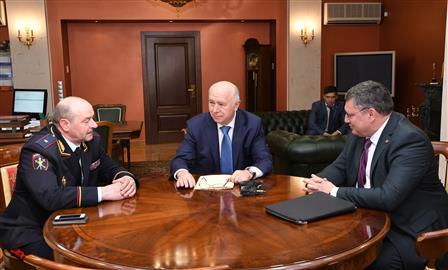 В Самарской области представлен новый начальник ГУ МВД