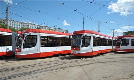 Самарскому ТТУ передали 10 трамваев