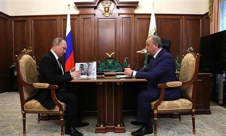 Владимир Путин назначил Валерия Радаева временно исполняющим обязанности губернатора Саратовской области