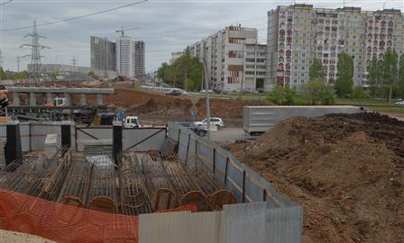 На Ташкентской/Демократической на два месяца введут временную схему движения