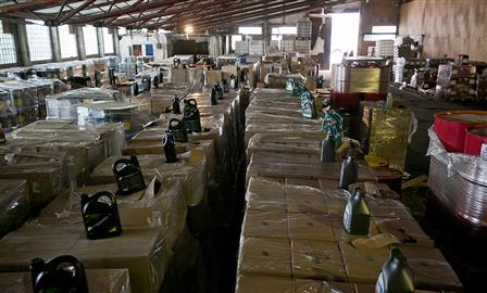 В Тольятти закрыли производство контрафактных моторных масел
