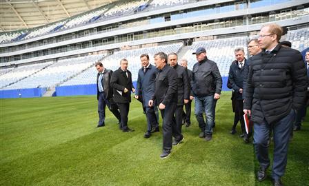 """Виталий Мутко: """"Самара Арена"""" может войти в тройку лучших стадионов страны"""""""