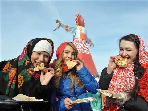 Проводы русской зимы — Масленица