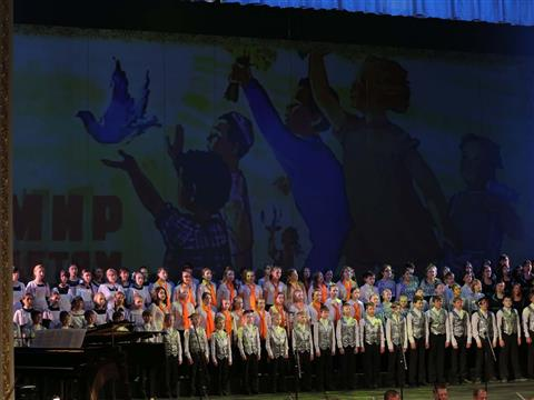 День славянской письменности и культуры отметили всероссийским хоровым марафоном