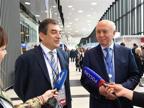 Петербургский международный экономический форум (ПМЭФ). День первый