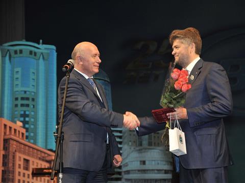 """Николай Меркушкин поздравил """"Волгатрансстрой"""" с 25-летием"""