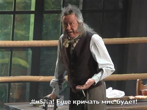 Выходка Михаила Ефремова в Самаре попала на видео
