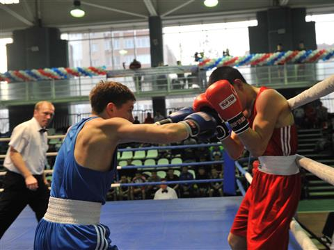 В Самаре проходит чемпионат страны по боксу среди студентов