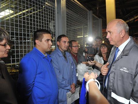 Работники АвтоВАЗа поддержат Николая Меркушкина на выборах губернатора