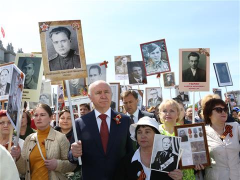 Более 500 тыс. жителей Самарской области приняли участие в торжествах Дня Победы