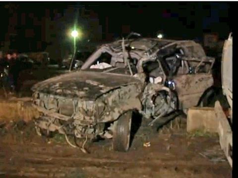 """""""Семерка"""" протаранила Land Cruiser, водитель иномарки в тяжелом состоянии (видео)"""