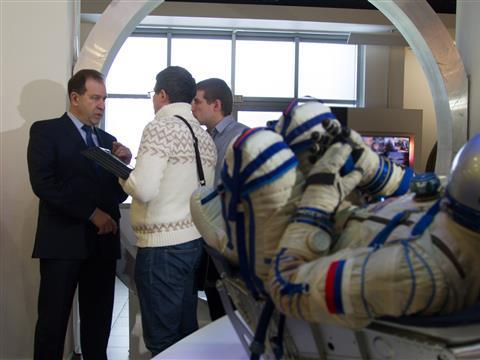 """Призеры """"iВолги-2014"""" перед поездкой на космодром Байконур встретились с Сергеем Чабаном"""
