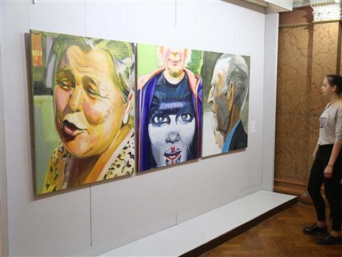 """Выставка """"Невидимки за человечность"""""""