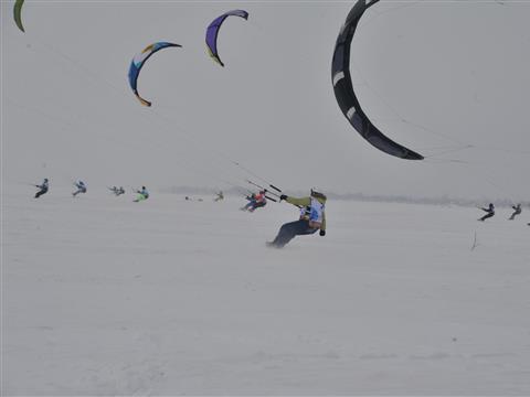 На набережной Тольятти ловили ветер и адреналин