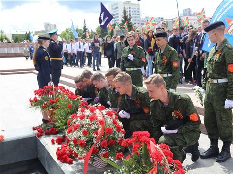 В Самаре отметили столетие Пограничной охраны РФ