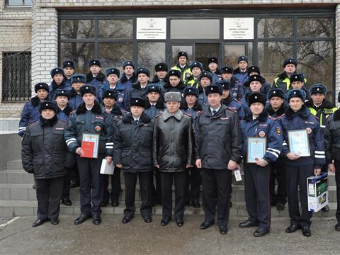 В Самарской области определили лучшего сотрудника ДПС