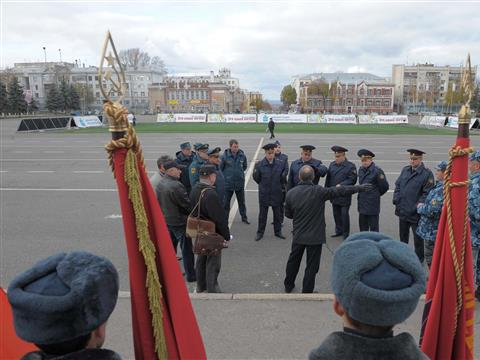 1 ноября прошла репетиция Парада памяти