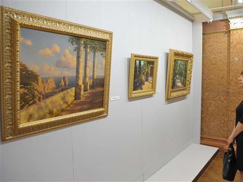 В художественном музее впервые в России открылась выставка российского художника Ивана Шультце