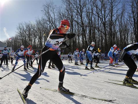 """В Самаре прошли 72-е лыжные гонки на призы газеты """"Волжская коммуна"""""""