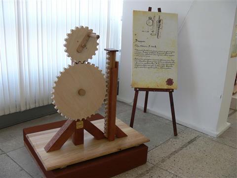 Тольяттинцам предлагают потрогать руками изобретения великого Леонардо да Винчи