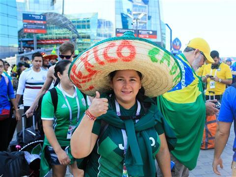 В Самару прибыли поезда с болельщиками на матч Бразилия-Мексика