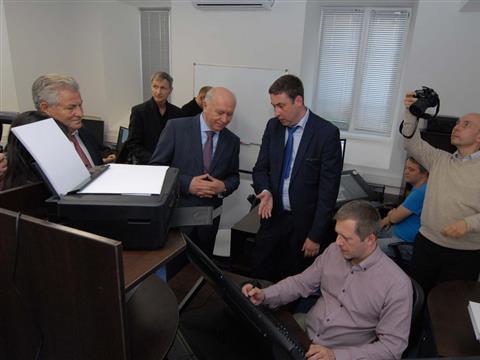 Николай Меркушкин посетил структурные подразделения Института инновационного развития (ИИР) Самарского государственного медицинского университета