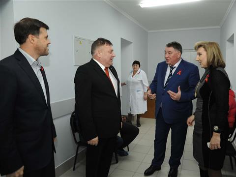В Новокуйбышевске после капитального ремонта открыли СПИД-центр