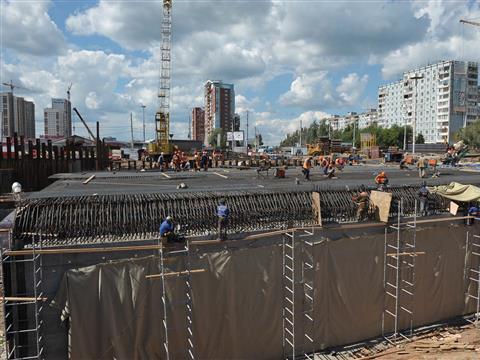 Развязка на проспекте Кирова готова на четверть