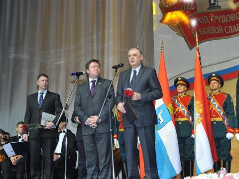 Прием от имени губернатора Самарской области, приуроченный ко Дню народного единства и юбилею исторического Парада 7 ноября 1941 года на пл. им. Куйбышева.