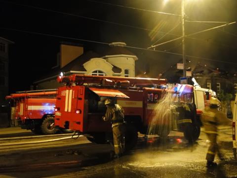 20 мая, в Самаре на ул. Фрунзе, 31 произошел пожар