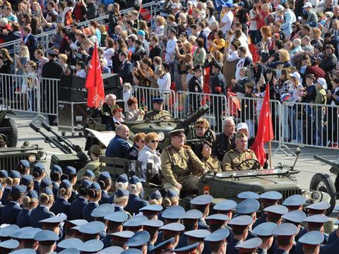 Парад Победы 9 мая 2017 года
