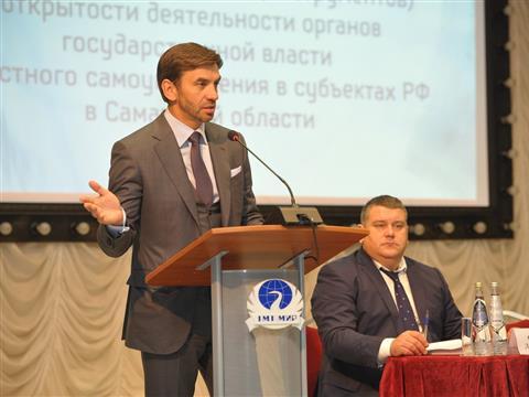 Михаил Абызов посетил Международный институт рынка