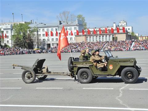 Парад Победы В Самаре 9 мая 2014 года