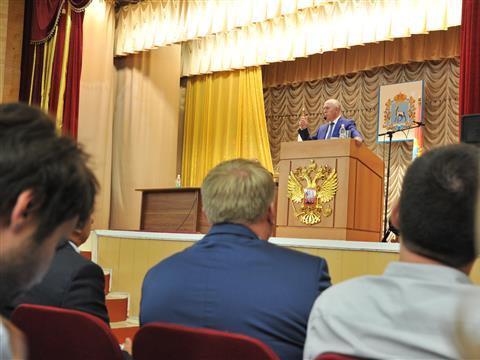 """Николай Меркушкин: """"В Самарской области самые высокие темпы возрождения сельского хозяйства в стране"""""""