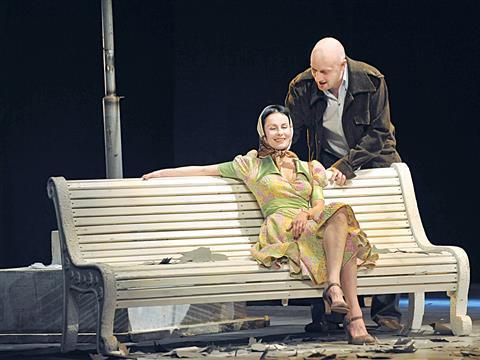 """Куценко и Апексимова встретились на """"Скамейке"""" в Самарской филармонии (видео)"""