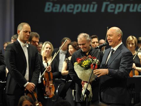 Николай Меркушкин поблагодарил Валерия Гергиева за яркое выступление