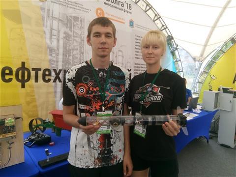 На iВолге открылась выставка технических инноваций