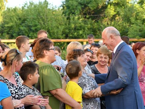 Рабочая поездка Николая Меркушкина в Похвистневский район