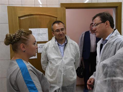 Глава региона ознакомился с работой крестьянско-фермерского хозяйства Евгения Цирулева
