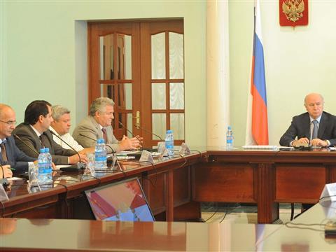 Николай Меркушкин провел совещание по вопросу формирования нового сектора экономики Самарской области - IT-медицины