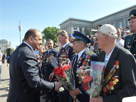 В Самаре завершился Военный парад, посвященный празднованию 67-летия Дня Победы