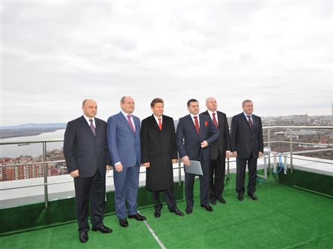 """Глава """"Газпрома"""" Алексей Миллер открыл новый офис """"Газпром трансгаз Самара"""""""