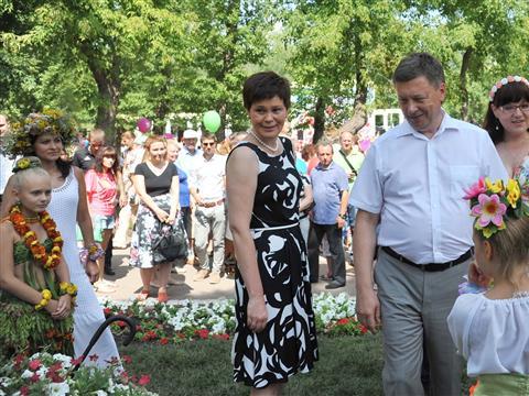 В Самаре прошел фестиваль цветов