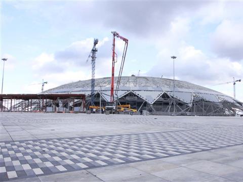 """Раскружаливание стадиона """"Самара Арена"""""""