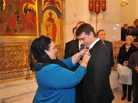 Княгиня Мария Романова посетила в Тольятти Преображенский собор