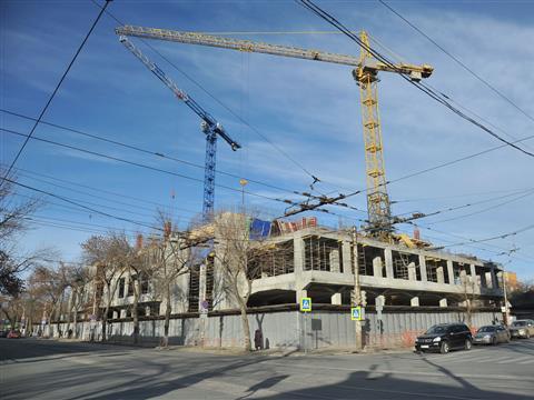 Виталий Мутко оценил ход строительства гостиницы к играм ЧМ-2018