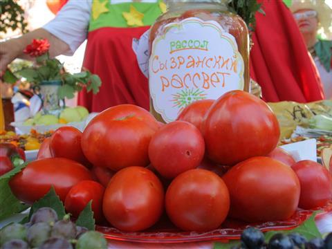 Сызрань стала центром гастрономического паломничества любителей томатов