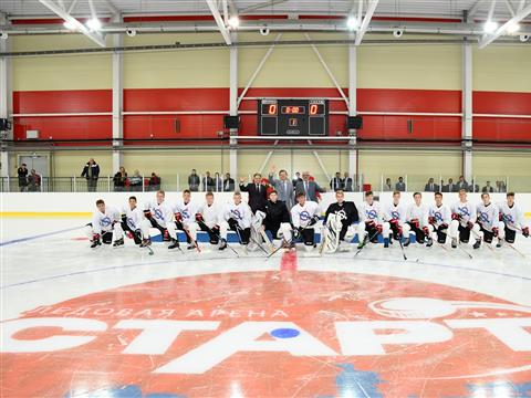 Новый спортивный объект позволит круглогодично заниматься ледовыми видами спорта