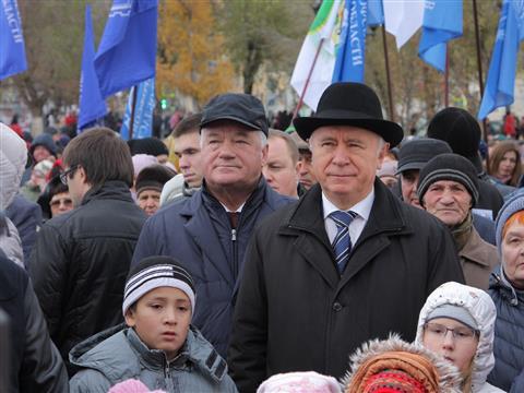 Николай Меркушкин принял участие в торжествах по случаю Дня народного единства
